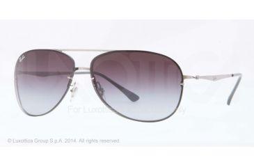 Ray-Ban RB8052 Sunglasses 159/8G-61 - Titanium Frame, Grey Gradient Lenses