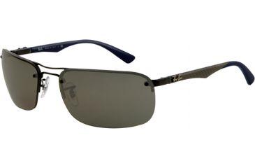 25eb81918af Ray-Ban RB8310 Sunglasses - Shiny Black Frame