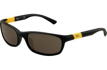Ray-Ban RJ9056S Bifocal Prescription Sunglasses RJ9056S-195-87-5016 - Lens Diameter 50 mm, Frame Color Matte Black