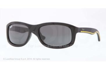 Ray-Ban RJ9058S Single Vision Prescription Sunglasses RJ9058S-700187-50 - Lens Diameter 50 mm, Frame Color Matte Black