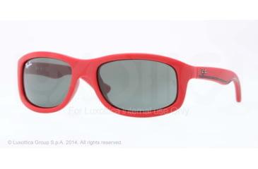 Ray-Ban RJ9058S Single Vision Prescription Sunglasses RJ9058S-700271-50 - Lens Diameter 50 mm, Frame Color Matte Red