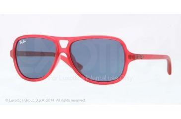 Ray-Ban RJ9059S Progressive Prescription Sunglasses RJ9059S-197-80-50 - Lens Diameter 50 mm, Frame Color Matte Red