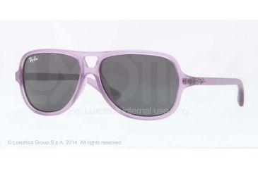 Ray-Ban RJ9059S Progressive Prescription Sunglasses RJ9059S-199-87-50 - Lens Diameter 50 mm, Frame Color Matte Violet