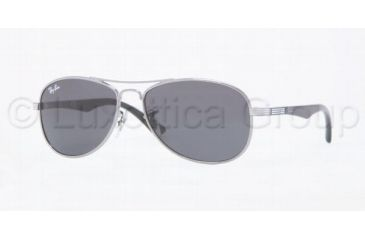 Ray-Ban RJ9529S Progressive Prescription Sunglasses RJ9529S-200-87-5013 - Frame Color: Gunmetal, Lens Diameter: 50 mm