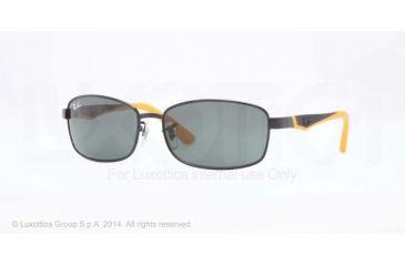 Ray-Ban RJ9533S Progressive Prescription Sunglasses RJ9533S-220-71-51 - Lens Diameter 51 mm, Frame Color Shiny Black