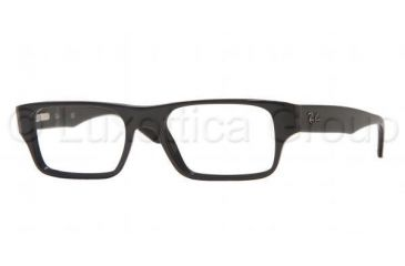95b2e02001a Ray-Ban RX5122 SV Prescription Eyeglasses - Shiny Black Demo Lens Frame    50 mm