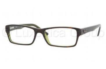 ba41f2e9b04 Ray-Ban RX5169 Progressive Eyeglasses - Top Havana On Green Tr Demo Lens  Frame