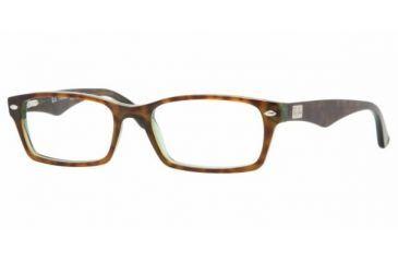 Ray Ban Glasses Frames Green : Ray Ban RX 5206 Eyeglasses Styles Havana Green Frame w Non ...