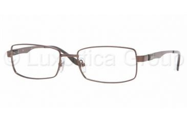 Ray-Ban RX 6155 Eyeglasses Styles - Brown Frame w/Non-Rx 53 mm Diameter Lenses, 2511-5317