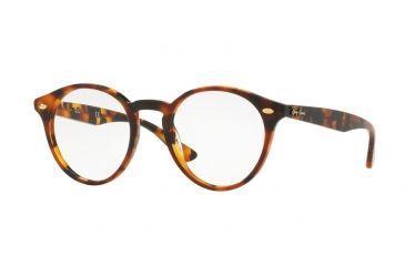 a0fdcf7089 Ray-Ban RX2180V Eyeglass Frames 5675-49 - Top Havana Brown On Havana Yel