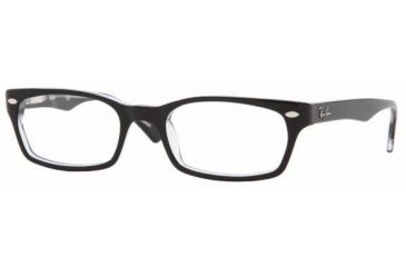 aaefc432ff8 Ray-Ban Eyeglasses RX5150 with Rx Prescription Lenses 2034-5219 - Top Black  On