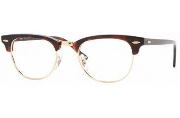 456091e244 Ray-Ban RX5154 SV Prescription Eyeglasses - Red Havana Demo Lens Frame   49  mm
