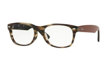 1cec93a199c Ray-Ban RX5184F Eyeglass Frames 5798-52 - Havana   Green Frame