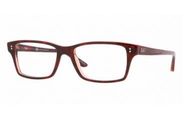 Ray Ban RX5225 #5034 - Top Red Havana / Tr Red Frame, Demo Lens Lenses
