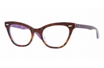 Ray Ban RX5226 #5031 - Violet Gradient Havana Frame, Demo Lens Lenses