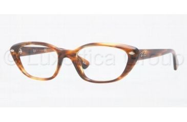 Ray-Ban RX5242 Single Vision Prescription Eyewear 2144-5118 - Havana