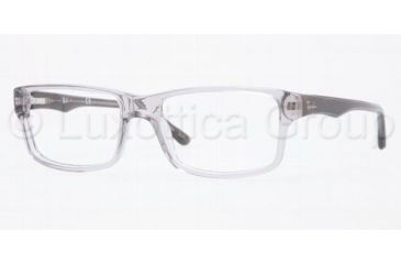 Ray-Ban RX5245 Bifocal Prescription Eyeglasses 5077-5217 - Transparent Gray