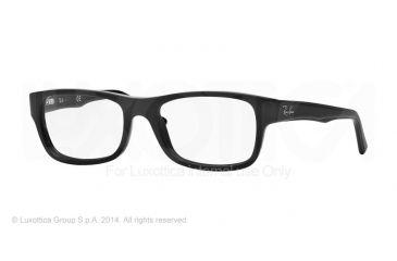 Ray-Ban RX5268 Bifocal Prescription Eyeglasses 5119-52 - Matte Black Frame