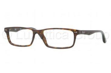 Ray-Ban RX5277 Single Vision Prescription Eyeglasses 2012-5417 - Dark Havana Frame