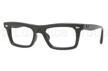 Ray-Ban RX5278 Eyeglass Frames 2000-5119 - Shiny Black Frame