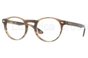 Ray-Ban RX5283 Eyeglass Frames 5139-4721 - Striped Brown Frame