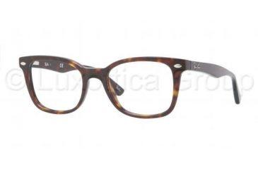 Ray-Ban RX5285 Progressive Prescription Eyeglasses 2012-5119 - Dark Havana Frame