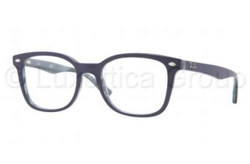 Ray-Ban RX5285 Progressive Prescription Eyeglasses 5153-5319 - Dark Steel Frame