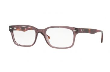 21dce103711 Ray-Ban RX5286 Eyeglass Frames 5628-51 - Shiny Opal Brown Frame