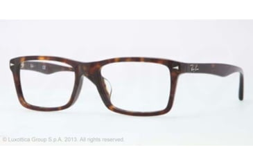 Ray-Ban RX5287F Bifocal Prescription Eyeglasses 2012-54 - Dark Havana Frame