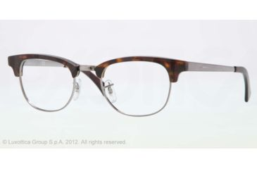 Ray-Ban RX5294 Single Vision Prescription Eyeglasses 2012-49 - Dark Havana/gunmetal Frame, Demo Lens Lenses