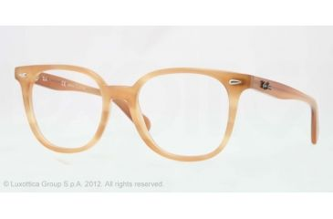 2040693d1f Ray-Ban RX5299 Eyeglass Frames 5142-53 - Striped Honey Frame