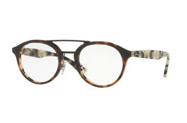 Ray-Ban RX5354 Single Vision Prescription Eyeglasses 5676-48 - Top Brown  Havana  41933f5ffcee