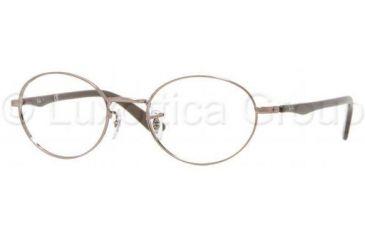 Ray-Ban RX6161 Eyeglass Frames 2531-4619 - Light Brown Gloss