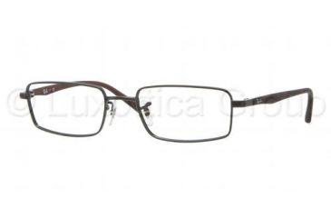 Ray-Ban RX6236 Progressive Prescription Eyeglasses 2503-5218 - Matte Black Frame