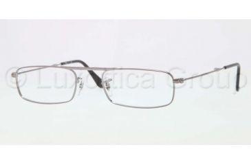 Ray-Ban RX6262 Single Vision Prescription Eyeglasses 2502-5121 - Gunmetal Frame