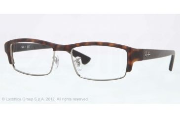 Ray-Ban RX7016 Progressive Prescription Eyeglasses 5200-54 - Matte Havana Frame, Demo Lens Lenses