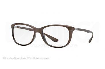 Ray-Ban RX7024 Eyeglass Frames 5205-56 - Matte Brown Frame
