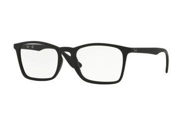 6d6abbecd8c Ray-Ban RX7045 Eyeglass Frames 5364-53 - Rubber Black Frame