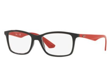 64168adaadf Ray-Ban RX7047 Single Vision Prescription Eyeglasses 2475-54 - Black Frame