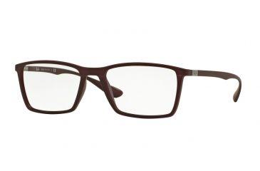 d6bd1633701 Ray-Ban RX7049 Eyeglass Frames 5523-53 - Matte Dark Violet Frame