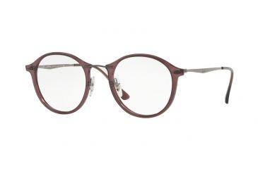 0f26e6b3329 Ray-Ban RX7073 Eyeglass Frames 5740-47 - Opal Bordeaux Frame