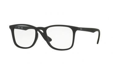f155d9ec1c Ray-Ban RX7074 Eyeglass Frames 5364-50 - Rubber Black Frame