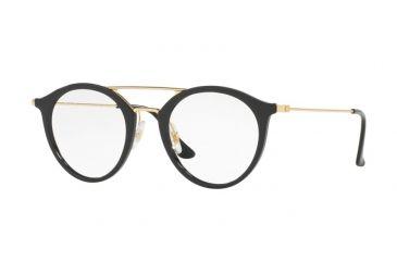 dc755a80cb Ray-Ban RX7097 Eyeglass Frames 2000-47 - Shiny Black Frame