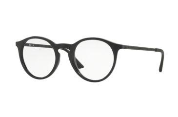 2816f4abf1 Ray-Ban RX7132F Eyeglass Frames 2000-52 - Shiny Black Frame