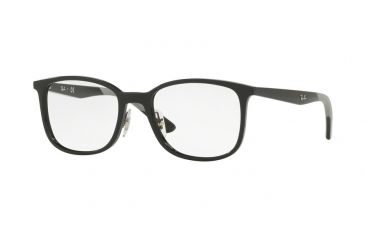 f3589faff64a2 Ray-Ban RX7142 Eyeglass Frames 2000-50 - Shiny Black Frame