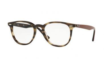 bbda3020a7c Ray-Ban RX7159 Eyeglass Frames 5798-50 - Havana   Green Frame