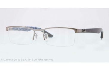 3da46739c5 Ray-Ban RX8412 Eyeglass Frames 2502-52 - Gunmetal Frame