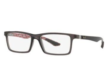 a6933d1999 Ray-Ban RX8901 Progressive Prescription Eyeglasses 5845-53 - Transparent  Grey Frame
