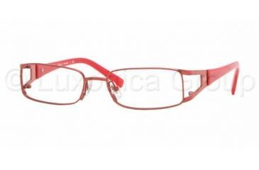1156a82578 Ray-Ban RY1021T SV Prescription Eyeglasses - Shiny Red Frame   47 mm  Prescription Lenses