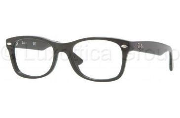 Ray-Ban RY1528 Single Vision Prescription Eyeglasses 3542-4616 - Black Frame